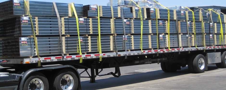 Truckload of Steel Studs